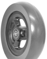 """CW116QPB - 6"""" X 1 1/2"""" WIDE HOLLOW SPOKE CASTER WHEELS, QUICKIE - SOLD AS PAIR"""
