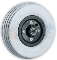 "CW244 8 x 2.25 INVACARE TWO PIECE CASTER W/POLYURETHANE TIRE AND 7/16"" BEARINGS. SOLD IN PAIRS"
