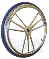 "RW715 Colours Billet Wheels 25 X 1"" ""HEART"" Sold As Pair"