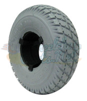 "F056-1 10 X 3"" (260-85)(3.00-4) DUROTRAP TIRE Fits Pride Narrow Wheel"