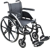 Drive Viper Wheelchair Deluxe High Strength, Lightweight Dual Axle - FREE SHIPPING