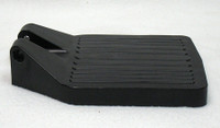 FP203 CENTER HINGE BLACK PLASTIC FOOTPLATE. SOLD AS EACH.