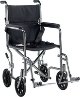 Drive Deluxe Go-Kart Steel Transport Chair (Chrome) FREE SHIPPING