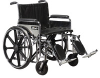 Drive Bariatric Sentra Extra-Heavy-Duty Wheelchair Dual Cross Brace FREE SHIPPING