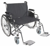 Drive Bariatric Sentra EC Heavy-Duty, Extra-Extra-Wide Wheelchair Dual Cross Brace FREE SHIPPING