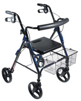 "Drive D-Lite, Aluminum Rollator with Removable 8"" Casters FREE SHIPPING"