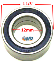 "B165 12mm ID X 1 1/8"" OD Precision Bearing"
