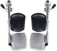 STDELR-TF Drive Swing-away Elevating Leg rests. Sold as Pair