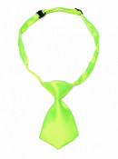 Green Shiny Dog Neck Tie