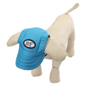 Blue Visor Dog Baseball Cap