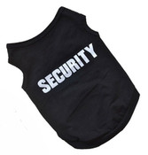 Black Security Dog Vest