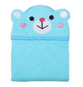 Blue Bear Design Dog Bathrobe Towel