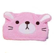 Pink Cat Design Dog Bathrobe Towel