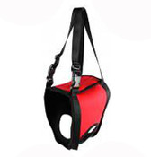 Red Front Legs Support Dog Hoist Harness