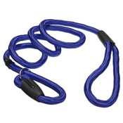 Large Blue Nylon Slip Rope Dog Lead