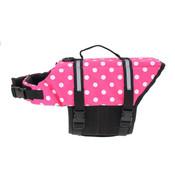 Pink Dot Dog Life Vest