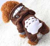 Brown Soft Fleece Animal Character Dog Onesie Pyjamas
