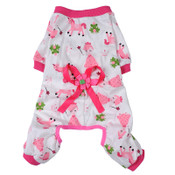 Pink Princess Dog Pyjamas