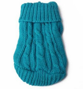 Sky Blue Mini Knitted Dog Jumper