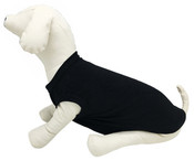 Black Plain Dog Vest