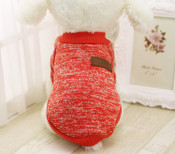 Red Classic Dog Jumper