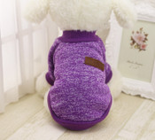 Purple Classic Dog Jumper