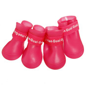 Pink Dog Wellies