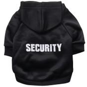 Black Security Guard Dog Hoodie