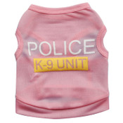 Pink Police K9 Security Dog Vest