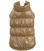 Brown Dog Body Warmer Coat