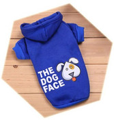 Blue The Dog Face Dog Hoodie