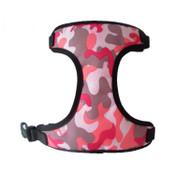 Pink Army Camo Design Dog Harness