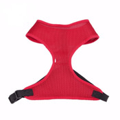 Bright Red Lightweight Dog Harness