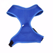 Bright Blue Lightweight Dog Harness