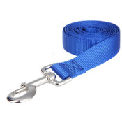 Blue Extra Long Nylon Dog Lead