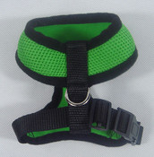 Green Mesh Dog Harness