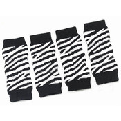 Zebra Print Dog Ankle Socks