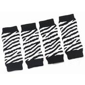 Zebra Print Dog Ankle Socks