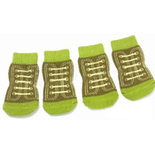Green Shoe Dog Socks