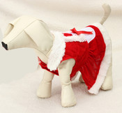 Mrs Santa Claus Dog Outfit