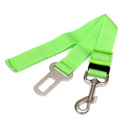Green Car Seatbelt Dog Lead