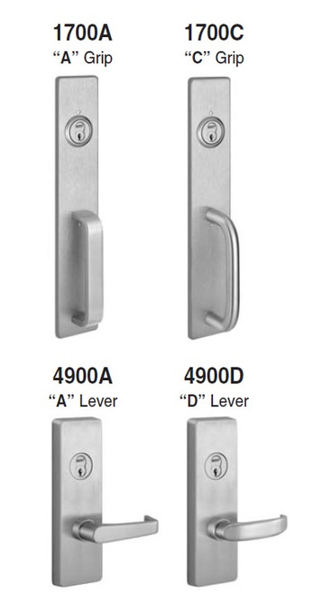 ... 2200 APEX Rim Series   Pull And Lever Trim