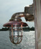 medium 90 degree passageway dock light