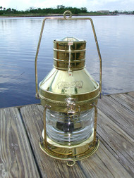 XL Brass Anchor Light-18""