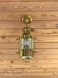 brass anchor ship light