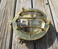 Brass Original Clamshell Light