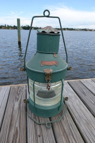 Galvanized XL Anchor Ship's light-Dark Green