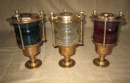 bronze pedestal dock lights