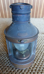 Hop Lee stern copper nautical lantern