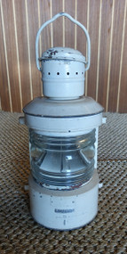 vintage ship's nautical masthead lantern